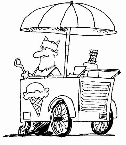 Ice Cream Coloring Pages Printable Icecream Cartoon