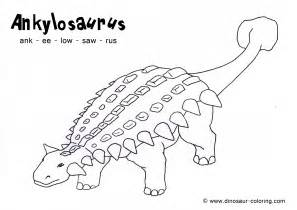 HD wallpapers ankylosaurus coloring pages