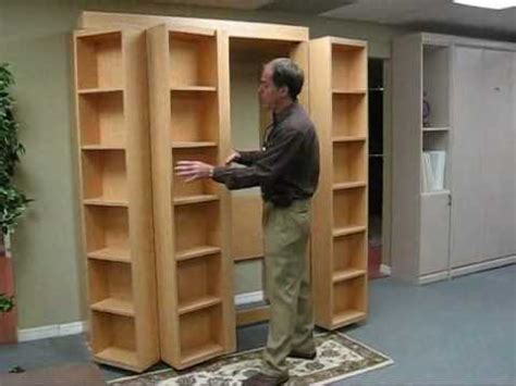 Bookshelf Bed by Bookcase Bed No