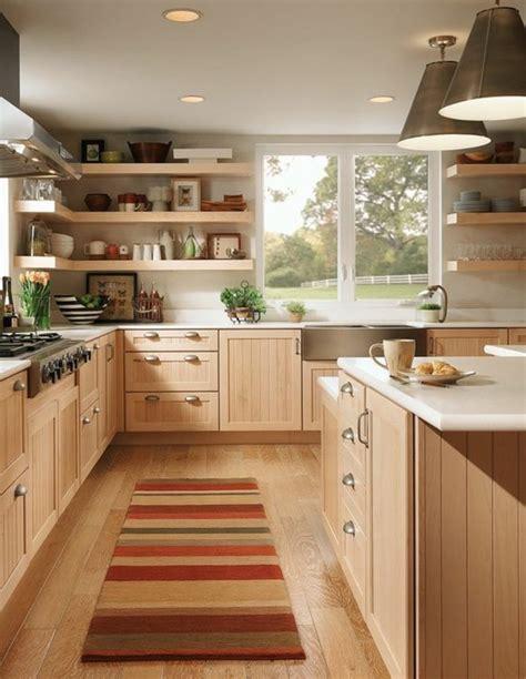 cuisine en bois clair le parquet clair c 39 est le nouveau hit d 39 intérieur pour 2017