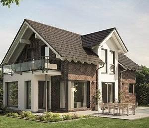 Moderne Häuser Mit Satteldach : moderne einfamilienhaus architektur mit klinker fassade satteldach und zwerch giebel haus ~ Eleganceandgraceweddings.com Haus und Dekorationen