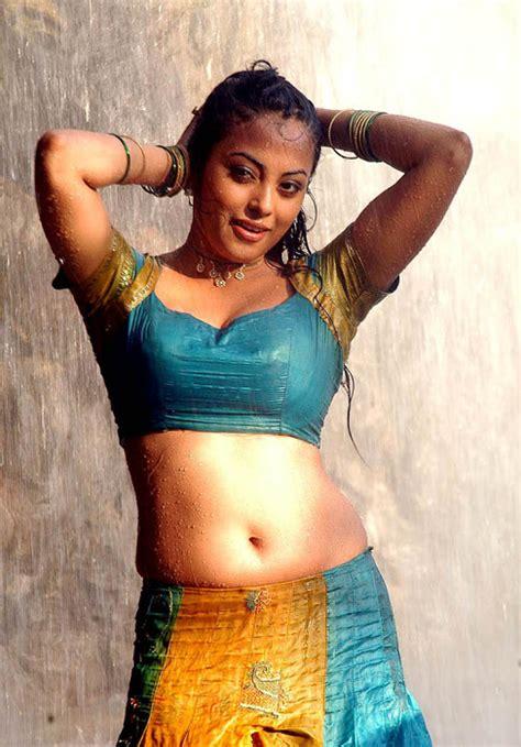 south actress hot  wet saree stills kambi