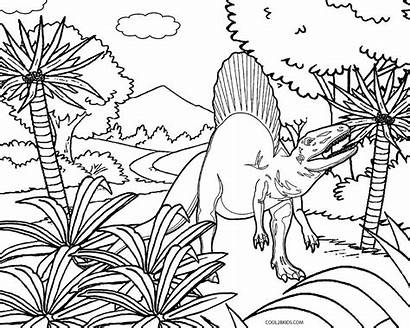 Dinosaur Coloring Pages Printable