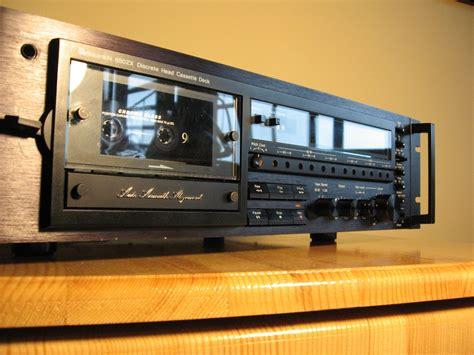 nakamichi cassette decks nakamichi 680zx stereo cassette deck audiobaza