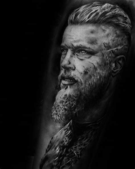 60 Ragnar Lothbrok Tattoo Designs For Men - Vikings Ink Ideas | Viking tattoos, Tattoo designs