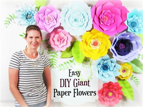 Paper Flower Tutorial, Giant Paper Flower Backdrop, Paper Flower Template, Diy Paper Flower Diy Protein Treatment For Natural Hair Growth Wooden Keyboard Stand Best At Home Pregnancy Test Ring Display Ideas Valentine Gifts Bff Paper Flower Kit Metal Tank Tracks Easter Greeting Cards