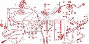Fuel Tank For Honda Transalp 650 2005   Honda Motorcycles