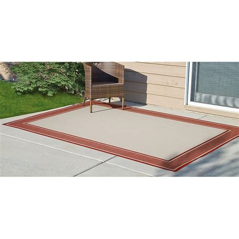 6x9 cayenne outdoor rug 212449 outdoor rugs at