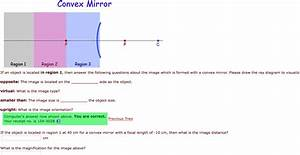 Ray Diagram For Convex Mirrors