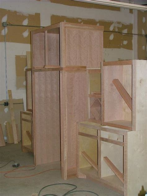 diy kitchen cabinets less than 250 dio home improvements how to build fridge cabinet www redglobalmx org