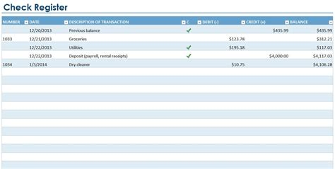 check register template excel excel checkbook register free checkbook register