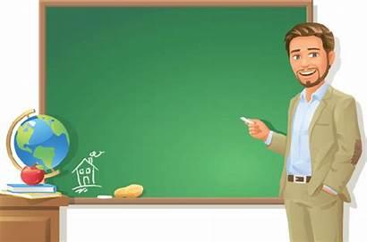 Teacher Transparent Background Clipart Blackboard Chalkboard Clip