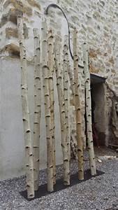 tronc arbre decoration interieur fabriquer des objets With delightful maison en tronc d arbre 4 arbre dinterieur maison et fleurs