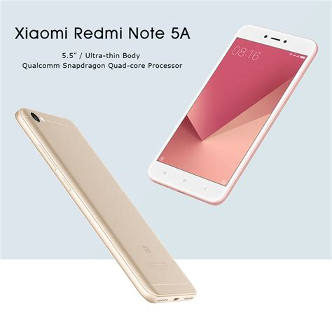 xiaomi redmi 5a prime global version xiaomi redmi note 5a 5 5 inch 2gb 16gb