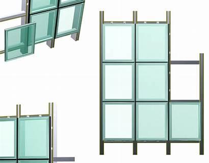 Curtain Glass Framing Hidden Wall Frame Facade