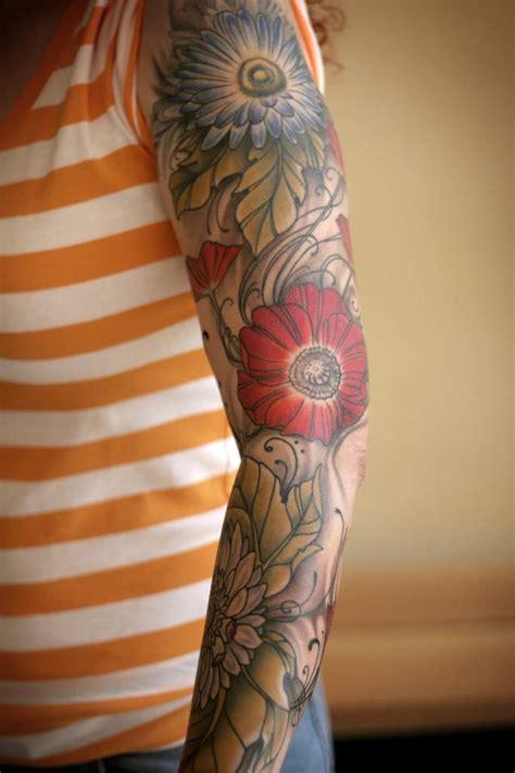 flower sleeve tattoos designs ideas  meaning tattoos