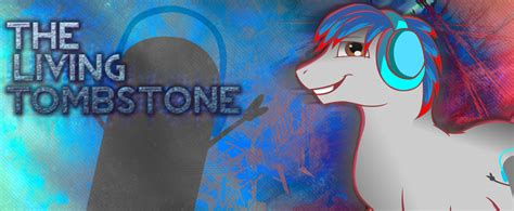 The Living Tombstone Facebook Cover By Bluedragonhans On