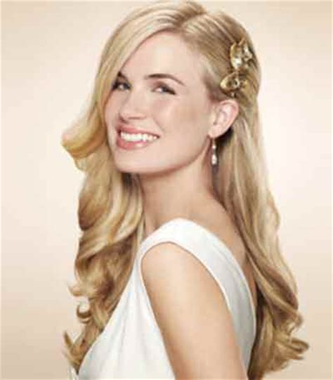 best prom hairstyles for one shoulder dresses