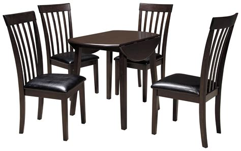 ashley furniture round table signature design by ashley hammis 5 piece round drop leaf