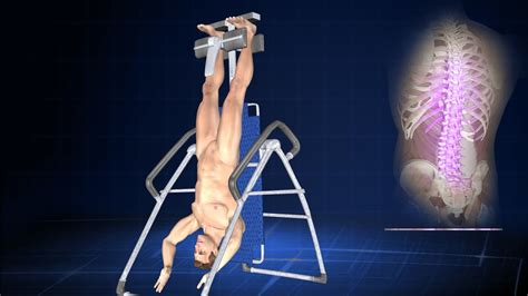 how does inversion therapy or hanging help