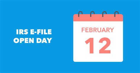 We did not find results for: IRS Announces E-File Open Day! Be the First In Line for Your Tax Refund   The TurboTax Blog
