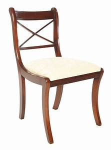 Möbel De Stühle : esszimmer stuhl regency cross stick in mahagoni ~ Orissabook.com Haus und Dekorationen