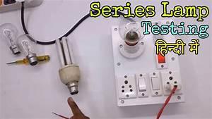 Diagram Of Series Test Lamp