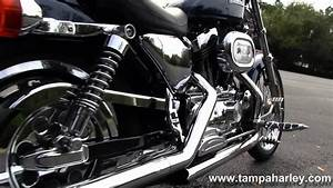 Used 2001 Harley-davidson Xl1200c Sportster 1200 Custom With Vance  U0026 Hines Exhaust