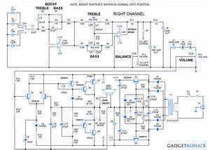 Diy 30 Watt Stereo Amplifier Circuit