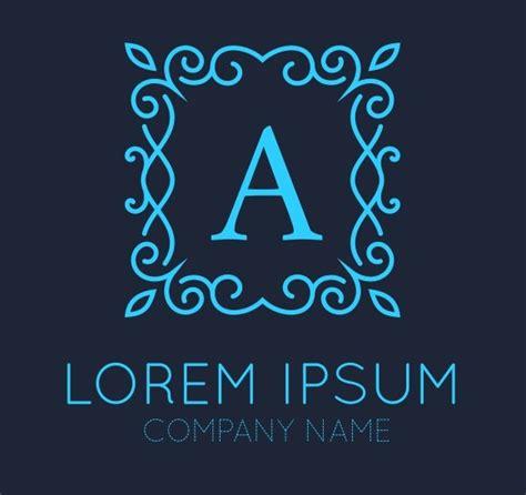 monogram logo design icons creative market