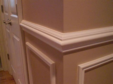 Chair Rail : Painting Paneling With Chair Rail, Painting, Free Engine