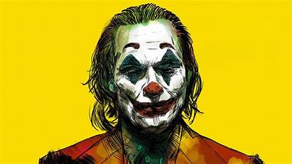 Joker 4k Wallpapers Yellow Bg Background Resolution