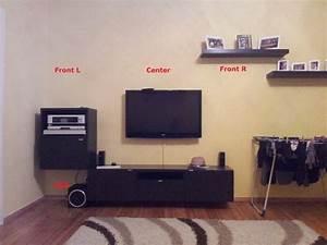 Optimale Höhe Fernseher : kaufberatung 51 soundsystem f r ein 23m wohnzimmer ~ Frokenaadalensverden.com Haus und Dekorationen