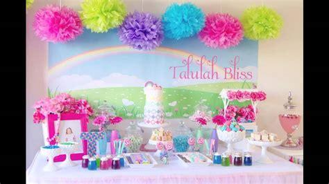 Good My Little Pony Themed Birthday Party Ideas Youtube