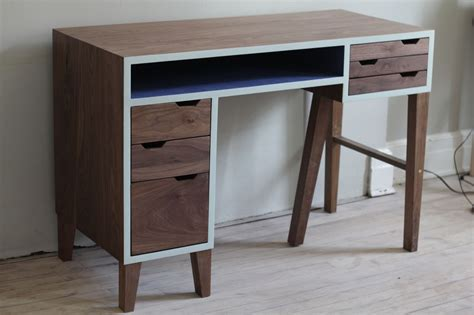 mid century modern small desk furniture mid century modern desks with white wall design