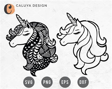 You can use our images for unlimited commercial purpose without asking permission. FREE SVG & PNG Link Unicorn Mandala Cut Files svg png | Etsy