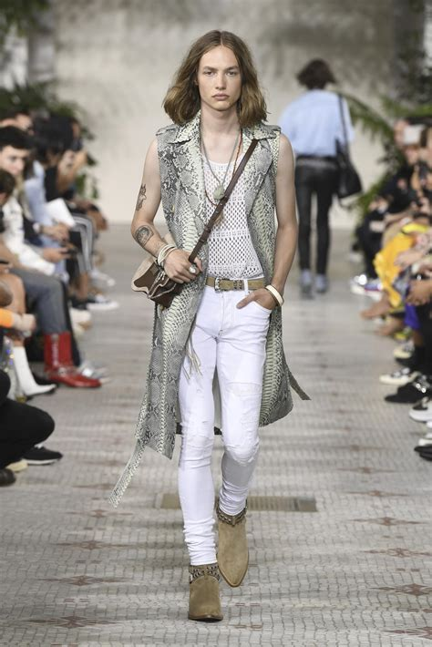 amiri spring summer  collection  skinny beep