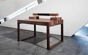 Schreibtisch Design Holz : schreibtisch aus edlem holz von scholtissek lifestyle und design ~ Eleganceandgraceweddings.com Haus und Dekorationen
