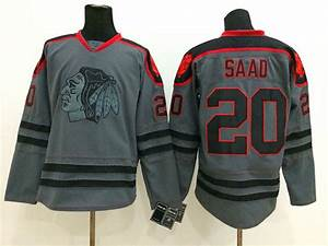 Chicago Blackhawks Cross Check Premier Fashion Jersey ...