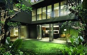 Interior, Design, Of, A, Minimalist, Tropical, House