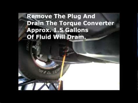 transmission rw fluid  filter change youtube