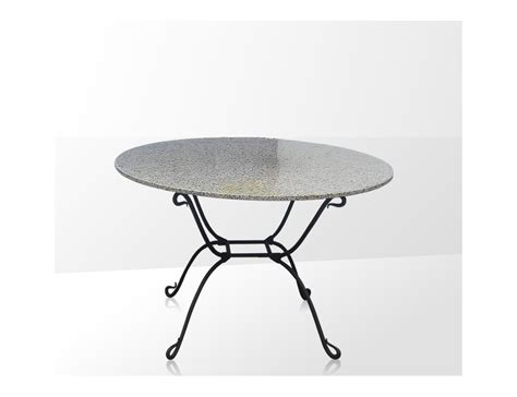 table basse ronde fer forge ezooq