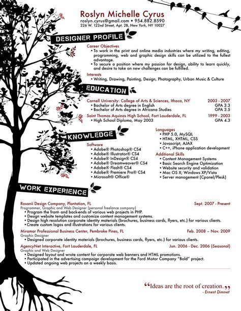 resume designs work ideas graphic design