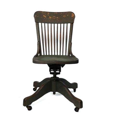 Vintage Desk Chair by Wood Antique Office Chair For Vintage Look
