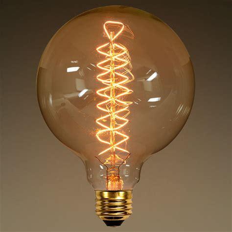 40 watt vintage light bulb g40 globe