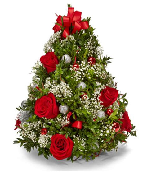 christmas plants images oh christmas tree bouquet at from you flowers