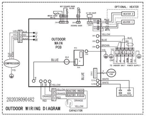 daikin ductless heat wiring diagram
