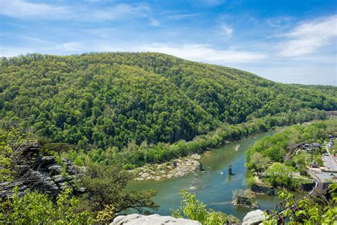Landscape View From Maryland Heights Image  Free Stock