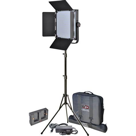 Vidpro Led 1x1 Professional Studio Lighting Kit Led 1x1 B H