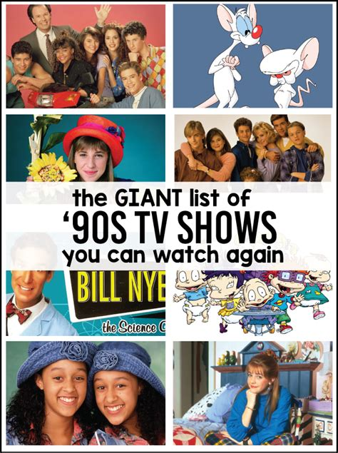 90s shows you can again 531   giantlistof90stvshows